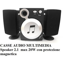 CASSE AUDIO MULTIMEDIA Speaker 2.1