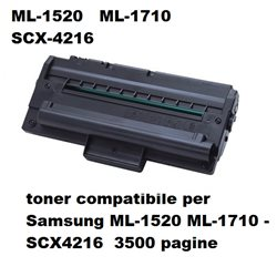 toner compatibile per Samsung ML-1520 ML-1710 - SCX4216 3500 pagine