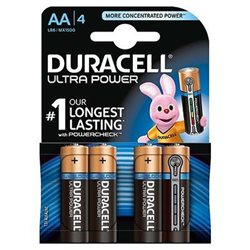 Duracell MX1500/LR06 Ultra Power ( AA ) Blister 4pz. - 002562