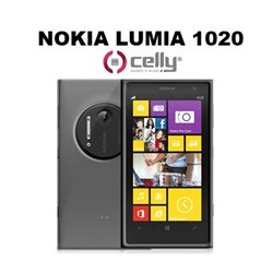 CELLY cover Nokia Lumia 1020 in TPU trasparente