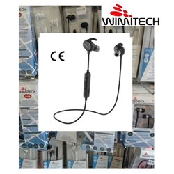 AURICOLARE BLUETOOTH SPORTIVI SMARTPHONE TABLET QCY QY19-BK