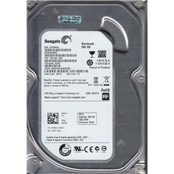 Seagate Barracuda 3.5 pollici 500GB 7200 RPM 16MB 6GB/S Internal SATA Drive