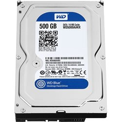 HARD DISK WESTERN DIGITAL 500GB SATA WD5000AAKX 7200 RPM, 6 GB/s, 16 MB