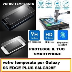 vetro temperato per Galaxy S6 EDGE PLUS SM-G928F
